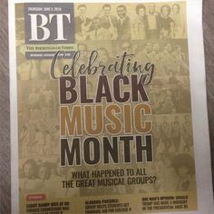 #BTcovers Black Music Month ends today; we celebrated it all month long, starting with this issue.
