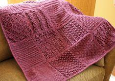 Beginner Knitting Instructions | KnittingPark: Afghans!!!!