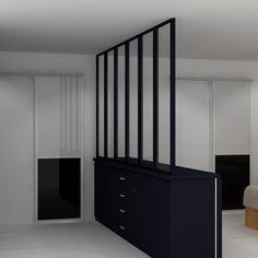 meuble de separation separateur de piece chambre kids verriere nantes inspiration deco mesure rdv bureau