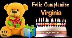Feliz Cumpleaños Silvia - Jardin Tutorial and Ideas Birthday Greetings For Aunt, Happy Birthday Pictures, Happy Birthday Wishes, Happt Birthday, Cool Pets, Animal Quotes, Dinosaur Stuffed Animal, 1, Christmas Ornaments