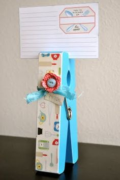 who couldn't use a cool new recipe card holder customized to their kitchen style!
