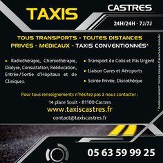 Encart Pub Taxi de castres