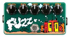 ZVex Effects Hand Painted Fuzz Factory Effect Pedal