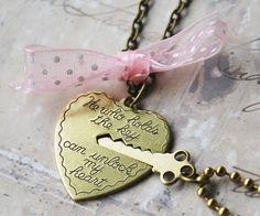 Key to My Heart Necklace - Heart and Key Couples Necklace Couple Necklaces, Couple Jewelry, 30 Gifts, Couple Gifts, Couple Stuff, Couple Things, Couple Items, Key To My Heart, Heart Charm