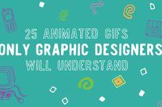 Essa coleçao de 25 GIFs retrata os altos e baixos da profissao de designer gráfico - Blue Bus