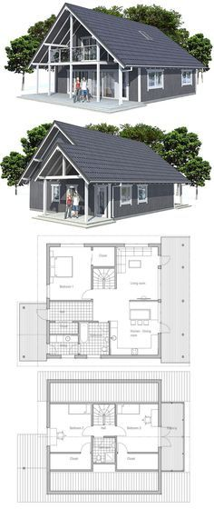 small 3bedroom, simple layout