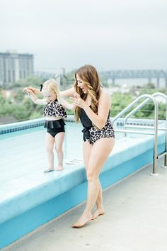 Mama and Mini Matching Bathing Suits + Why It is So Important to Teach A Positive Body Image to Our Children