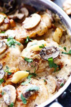 creamymushroomgarlicchicken2