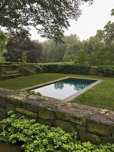 Swimming Pools Backyard, Swimming Pool Designs, Pool Landscaping, Backyard Landscape Design, Residential Landscaping, Landscape Designs, Outdoor Pool, Outdoor Gardens, Outdoor Spaces