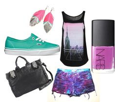 """Edgy Summer"" by leighannaxo on Polyvore"
