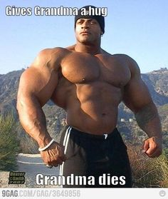 Muscle guy problems