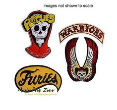 THE WARRIORS TRIPLE SET! GREAT VALUE Warrior Movie, Sci Fi Games, Journey's End, We Movie, Love Film, Movie Props, Iron On Patches, Porsche Logo, Rogues