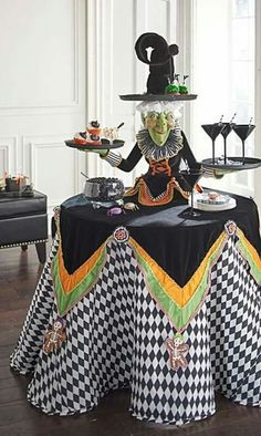 IN THE KITCHEN FOR SURE...omg Halloween retreat please yaas.