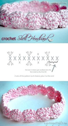 Crochet-Shell-Headband