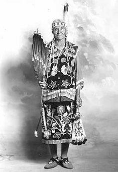 Ojibwa woman - circa 1930