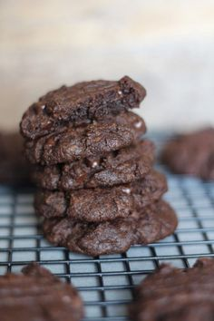 #paleo PaleOMG Soft & Chewy Double Chocolate Cookies