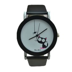 Fashionable Cat Watch for Kids