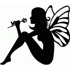 Silhouette Design Store: rose fairy