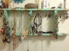 DIY Jewelry Organizers Upcycle Diy jewelry organizer and