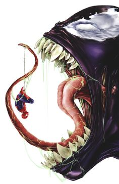 The Amazing Spiderman - Link does not work...but this is cool.  Artist?
