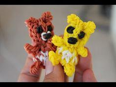 Rainbow loom Nederlands, 3D (teddy) beer - YouTube