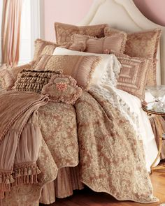 Twin Bed Sets With Comforter Bed Linen Design, Linen Bedding, Bed Linens, Bed Linen Sets, Luxury Bedding Sets, Cool Beds, Luxurious Bedrooms, Beautiful Bedrooms, Comforter Sets