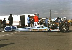 Drag Racing List - Keeling and Clayton's T/F Dragster and Funny Car