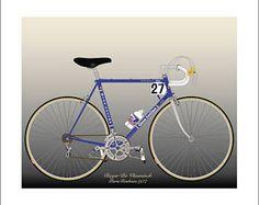 Roger De Vlaeminck's 1977 Paris-Roubaix Bike