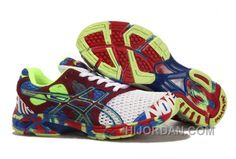 newest 39e39 c1a45 Asics Gel Noosa Tri 7 Shoes White Red Blue, Price   85.00 - Air Jordan Shoes,  Michael Jordan Shoes