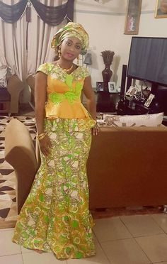 African Wear, African Style, African Beauty, African Women, African Dress, African Princess, Kitenge, Blouse And Skirt, Africa Fashion