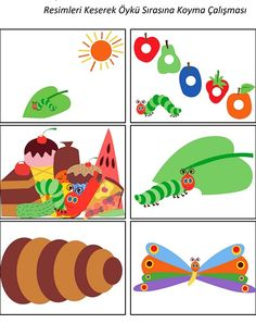 The Very Hungry Caterpillar Theme Activities - Hungry Caterpillar Classroom, The Very Hungry Caterpillar Activities, Bug Activities, Preschool Activities, Eric Carle, Literacy Bags, Construction Birthday Parties, Construction Party, Diy Quiet Books