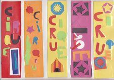 marque page à la manière de Matisse