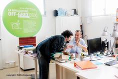 Getting Totally Off the Grid requires careful design and back office work, here Marco and Tommaso.