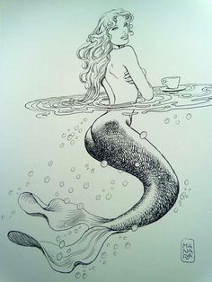 Milo Manara Mermaid