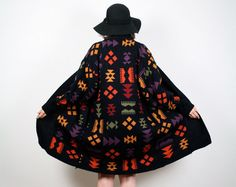 Vintage Southwestern Print Sweater Draped by ShopTwitchVintage, $64.00