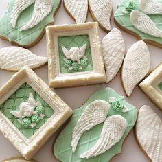 Lorena Rodriguez. Baptism cookies. #lorenarodriguez #decoratedcookies #baptismcookies