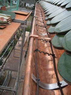 Warmfuß - Bau einer Dachrinnenheizung für ein Berliner Einfamilienhaus