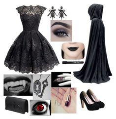 """Children Of the Night - Vampire"" by youngjaeouo on Polyvore featuring Dsquared2 and Bernard Delettrez"