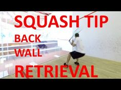 How to Return a Serve in Squash - YouTube