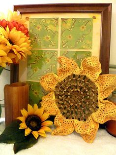 Ravelry: Painted Sunflower pattern by Julia Schwartz
