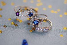 Sofia Zakia Jewelry Branding, Sapphire, Fine Jewelry, Stars, Luxury, Rings, Design, Branded Jewellery, Ring