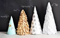 Resultado de imagem para Cone Árvore Tutorial Natal