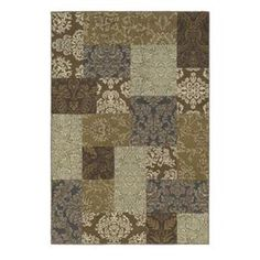 Nebraska Furniture Mart – Shaw Newport Miramar 5'3'' x 7'7'' Multi-Color Area Rug
