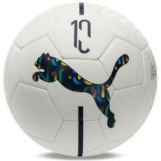 Puma Neymar Jr. Fan Ball Soccer Football White 08369101 Size 5 | eBay