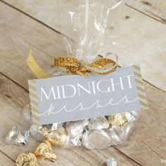 FREE New Year's Eve Printable & Party Favor Idea