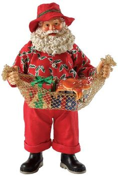 Department 56 Possible Dreams Hooked on the Holidays Santa Figurine 7