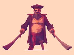 Low Poly - Characters on Behance