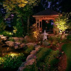 i dream of having a night garden