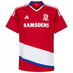 Camiseta del Middlesbrough 2016-2017 Local #middlesbrough