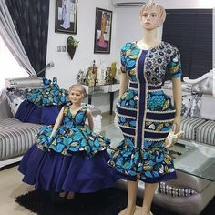 Mum and Daughter Ankara Style 2018 .Mum and Daughter Ankara Style 2018 African Fashion Ankara, African Inspired Fashion, Latest African Fashion Dresses, African Print Dresses, African Print Fashion, Africa Fashion, African Dress, African Prints, Latest Fashion